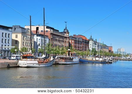 Helsinki. North Harbour
