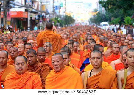 Monk gathering