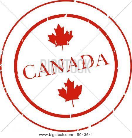 Kanada-Stempel