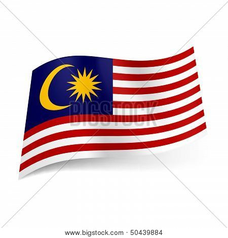 State flag of Malaysia.