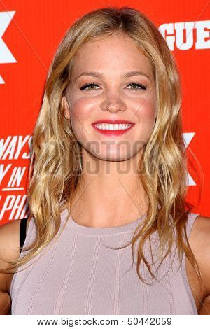 """LOS ANGELES - SEP 3:  Erin Heatherton at the FXX Network Launch Party And Premieres For """"It's Always Sunny In Philadelphia"""" And """"The League"""" at the Lure on September 3, 2013 in Los Angeles, CA"""