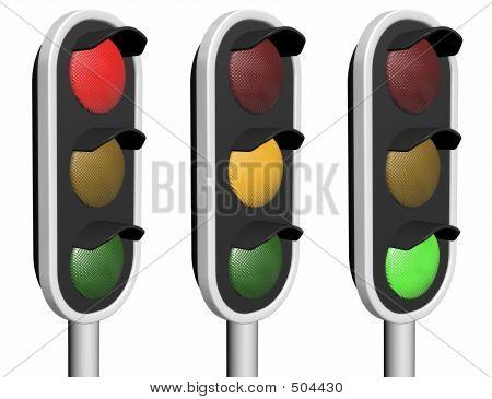 Luzes de tráfego