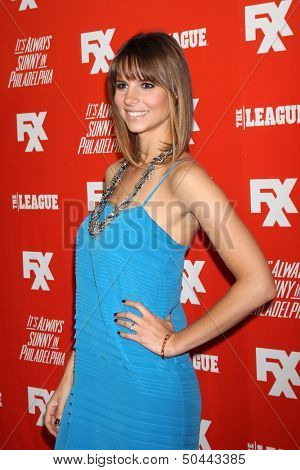 "LOS ANGELES - SEP 3:  Jill Latiano at the FXX Network Launch Party And Premieres For ""It's Always Sunny In Philadelphia"" And ""The League"" at the Lure on September 3, 2013 in Los Angeles, CA"