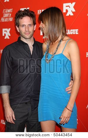 LOS ANGELES - SEP 3:  Glenn Howerton, Jill Latiano at the FXX Network Launch Party  at the Lure on September 3, 2013 in Los Angeles, CA