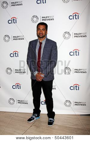 LOS ANGELES - SEP 6:  Kal Penn at the PaleyFest Previews:  Fall TV CBS -
