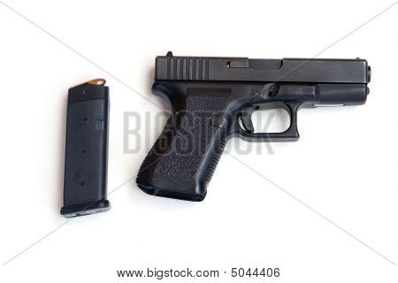 Pistol And Magazine