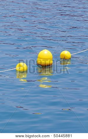 Yellow Floaters