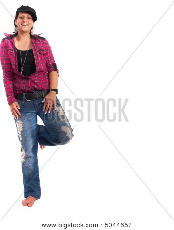 stylish weiblich