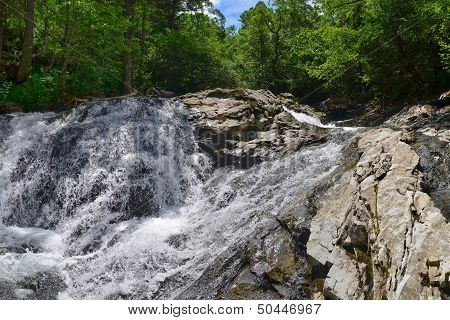 Waterfall, Forest River, Primorye, Russia