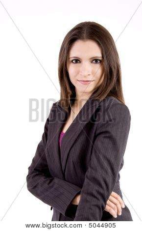 Beautiful Relaxed Business Woman
