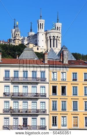 View Of Notre Dame De Fourviere