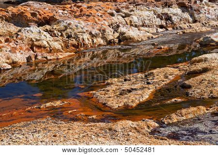 Acidic Rio Tinto In Andalucia
