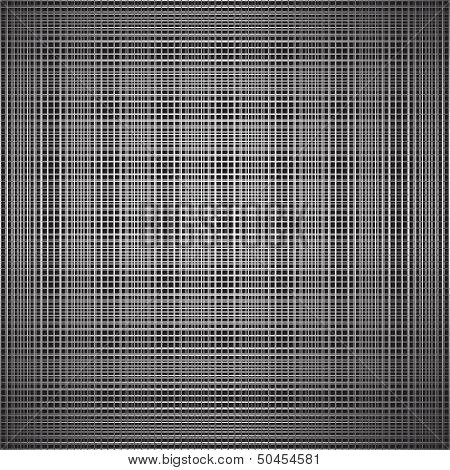 Abstract black illusion background.