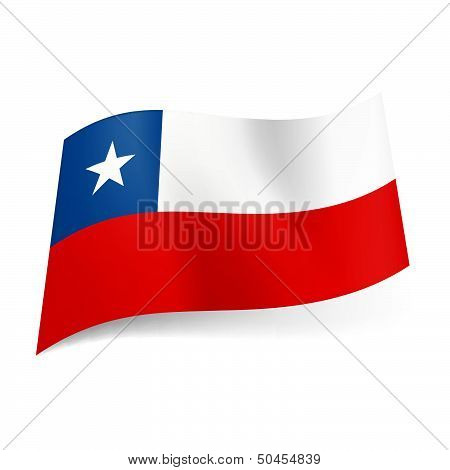 State flag of Chile.
