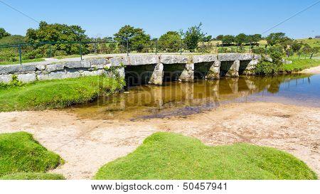 Clapper Bridge Bodmin Moor Cornwall