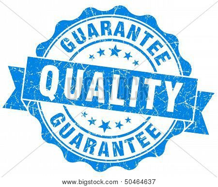 Quality Guarantee Grunge Stamp