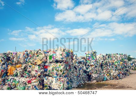 Dump With Processed Garbage