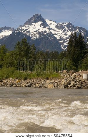 Whitehorse Mountain North Sauk River Cascade Mountains Washington