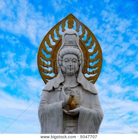 Statue Of Guanyin Goddess