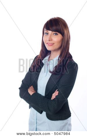Business Woman Arms
