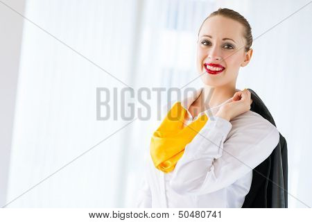 portrait of a successful business woman