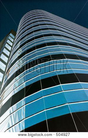 Blue Towerblock