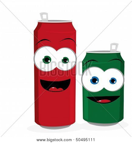 Funny Beer Or Soda Cans