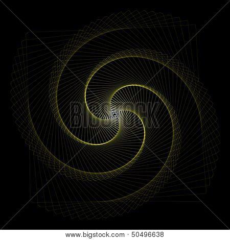 Flower spirograph pendulum photo