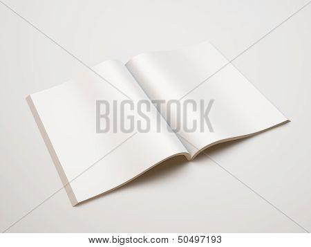 blank textbook