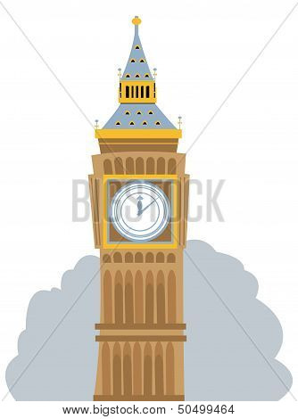 Big Ben Cartoon