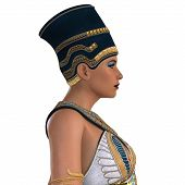 stock photo of nefertiti  - What Nefertiti a queen of ancient Egypt may have looked like in life - JPG
