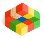 Постер, плакат: Impossible Toy Unreal Cubes Construction Illusion
