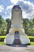 image of albert einstein  - The Einstein tower in Potsdam at the science park in HDR - JPG