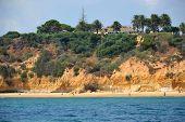 pic of vilamoura  - Beach Maria Luisa Albufeira Algarve Portugal Summer - JPG