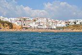 picture of vilamoura  - Beach Pescadores Albufeira Algarve Portugal summer sea - JPG