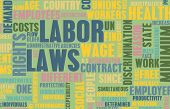 stock photo of workplace safety  - Labor Laws in the Workplace as Concept - JPG