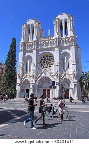 Basilique Notre Dame De Nice,france.