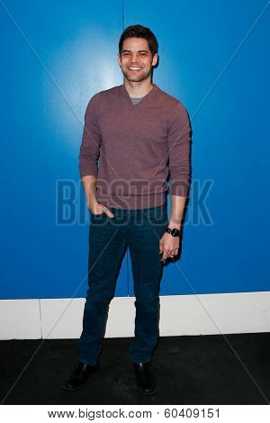 NEW YORK-FEB 24: Actor Jeremy Jordan attends the screening of