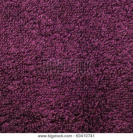 Bath Towel, Crimson, Pink, Vine, Raspberry, Red, Natural Plush Terry Cloth Turkish / Beach Textured
