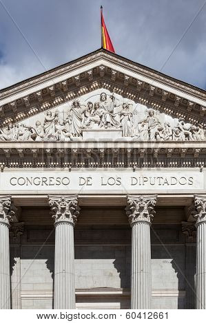 Spanish Congress Of Deputies, Congreso De Los Diputados, Parliament Building