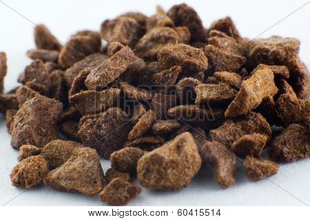 Macro Coffee Granules