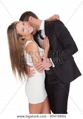 Portrait Of Elegant Young Couple
