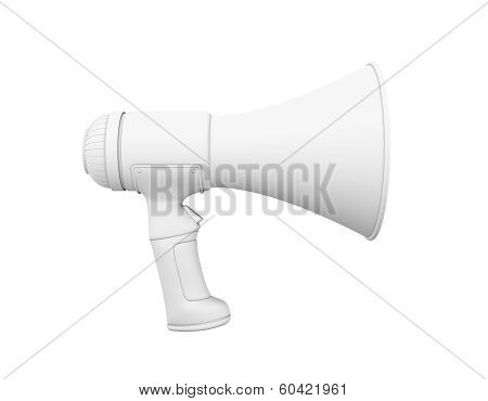 Megaphone In Grey Profile