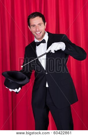 A Magician In A Black Suit