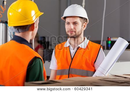 Project Workers During Job