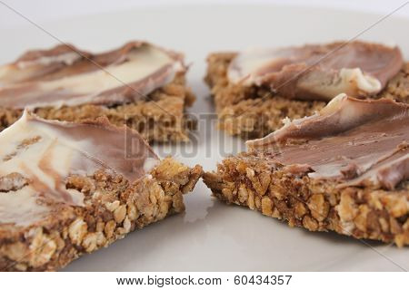 Hazelnut Spread Sandwiches
