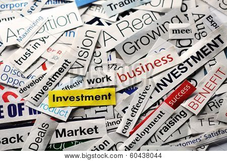 Investment  Collage