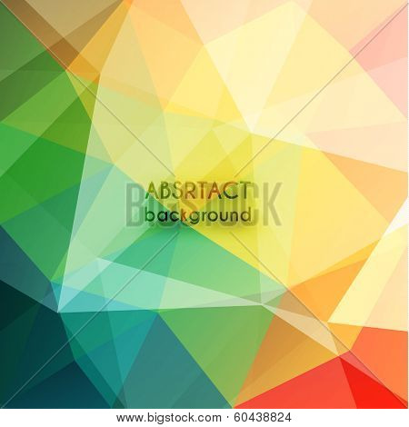 Colorful geometric background - eps10