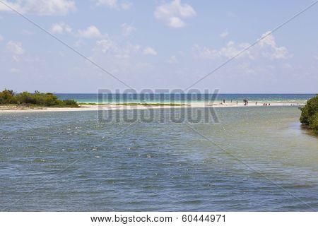Sian Kaan lagoon, Riviera Maya, Mexico