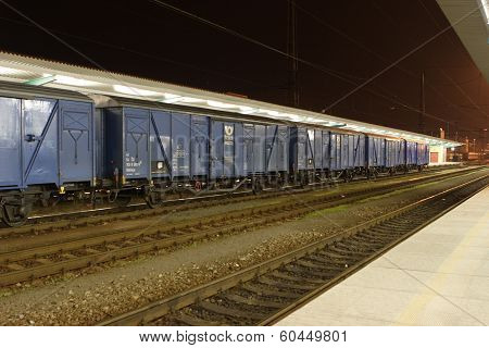 Line Of Wagons